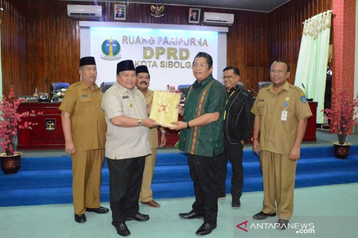 Ranperda APBD Sibolga 2020 mengacu pada program nasional dan provsu