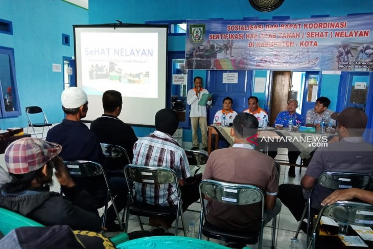 74 nelayan Mukomuko usulkan sertifikat tanah gratis