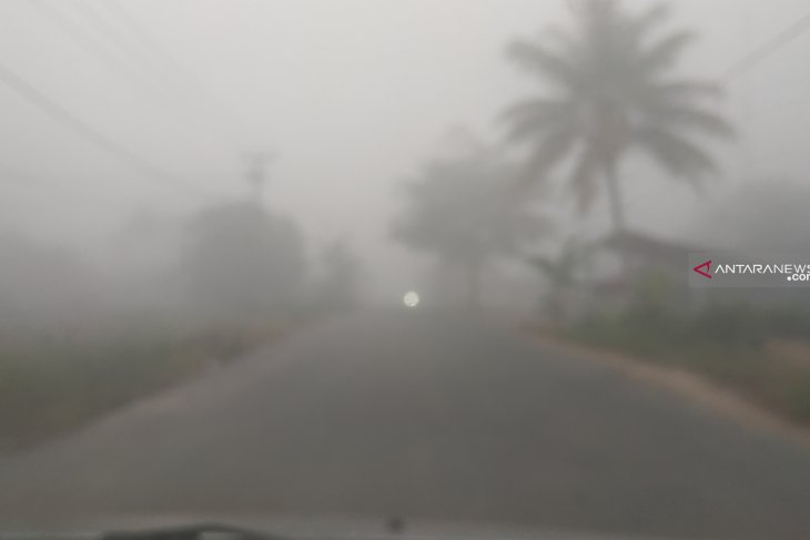 Pontianak plans to change school hours owing to haze