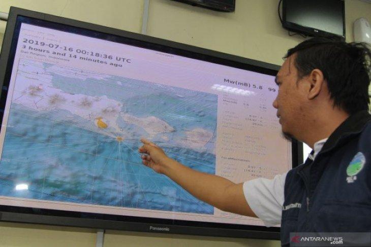 Kabupaten Jembrana-Bali diguncang gempa 4,9 magnitudo
