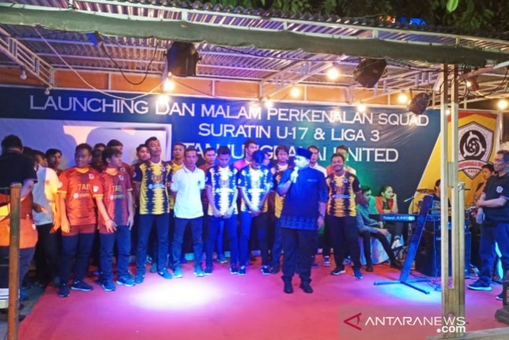 Tanjungbalai United diharapkan jadi tonggak sejarah kemajuan sepak bola