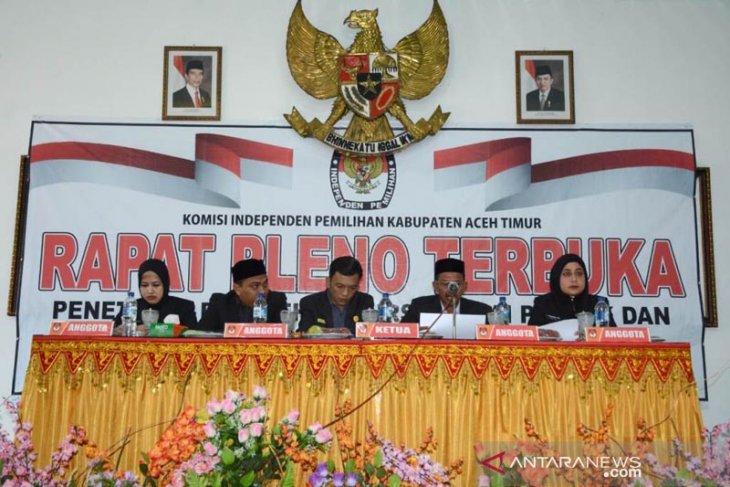 KIP tetapkan 40 kursi DPRK Aceh Timur