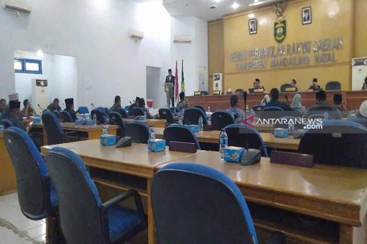 Pansus sampaikan delapan rekomendasi terhadap LKPj Bupati Madina tahun 2018