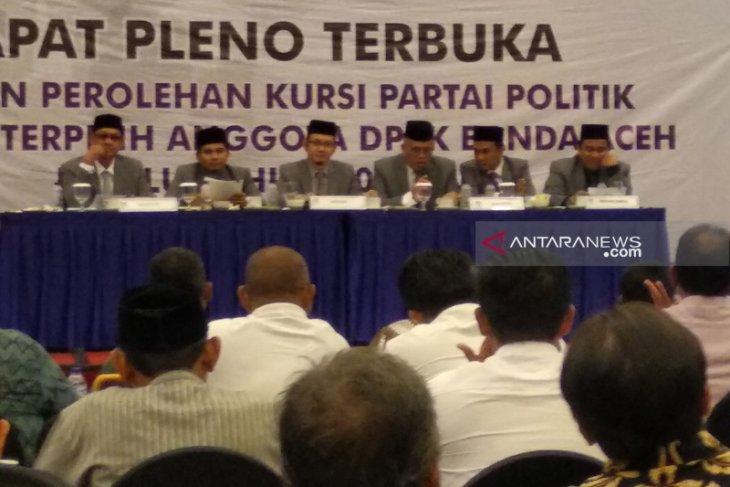 Ini 30 anggota DPRK Banda Aceh terpilih
