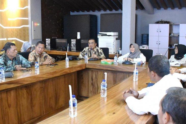 TPID Kediri berbagi tips tekan inflasi kepada TPID Palembang