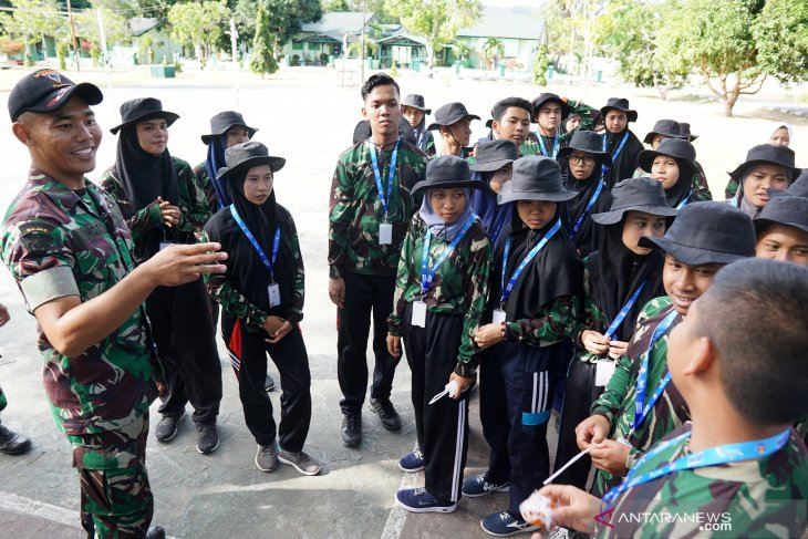 Yonif 713 Gorontalo berikan pembekalan bagi peserta SMN Jatim