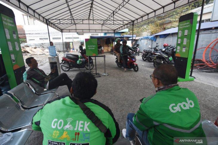 2040 personel kawal aksi Ojol di Istana Merdeka