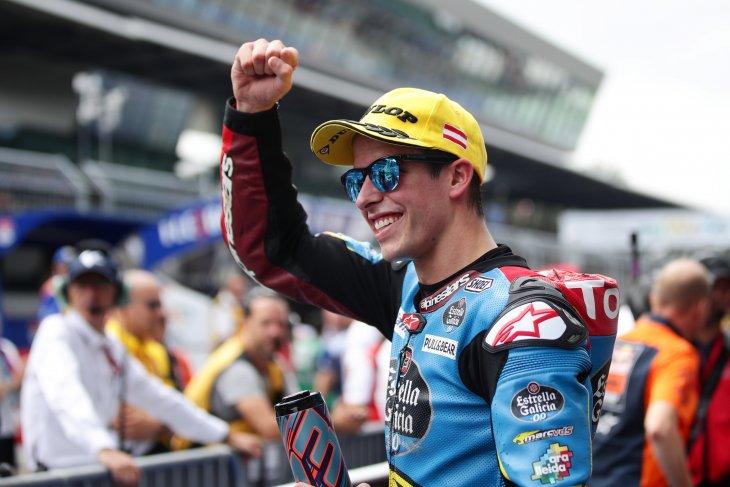 Pebalap Alex Marquez tunda kepindahan ke MotoGP