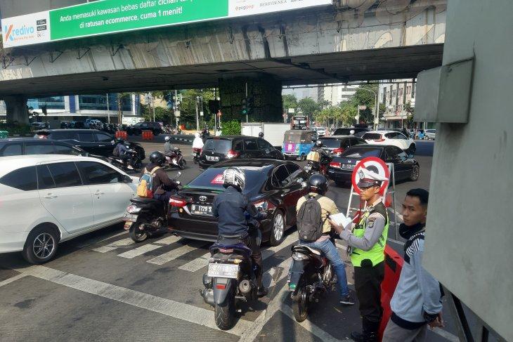 Polisi: Hindari Simpang Senen selama pembangunan