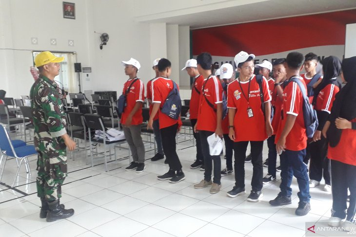 Peserta SMN Mulai Digembleng di Makorem 045/Garuda Jaya Bangka