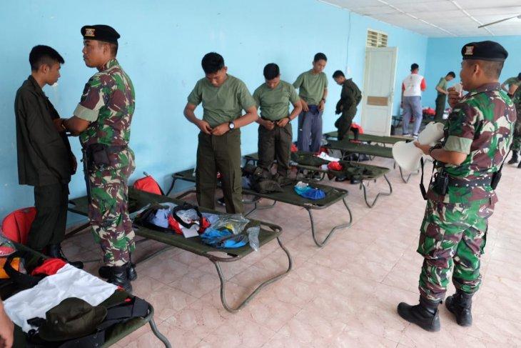 Kodam I/BB bagikan seragam militer kepada peserta SMN asal Sulteng