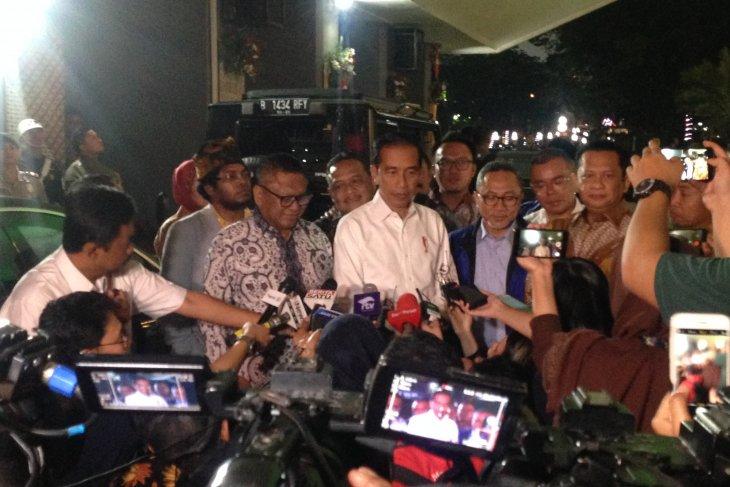 Hari ini, Presiden Joko Widodo dijadwalkan pidato tiga kali di Gedung Parlemen