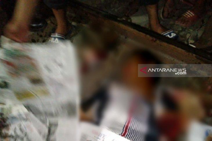 Tertabrak kereta api jurusan Binjai-Medan, pngendara betor tewas t