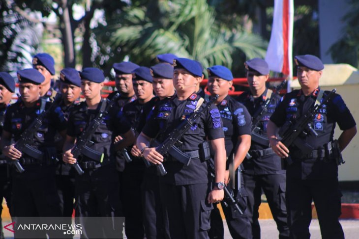 100 mobile brigade personnel dispatched to Papua: NTT police chief