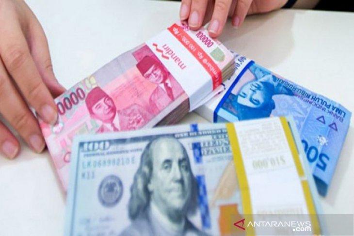 Kurs rupiah melemah menjadi Rp14.250