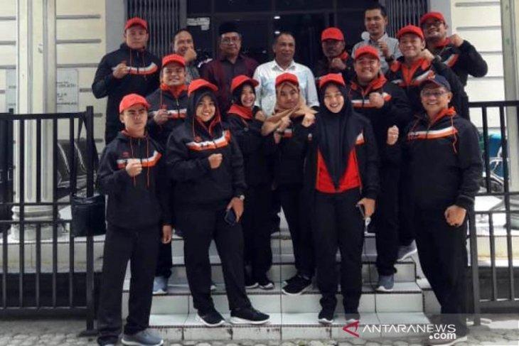 KONI Aceh lepas 12 atlet PABBSI ke Pra PON