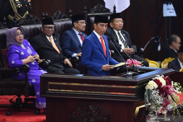 Isi lengkap Pidato Presiden Jokowi pada penyampaian RAPBN 2020