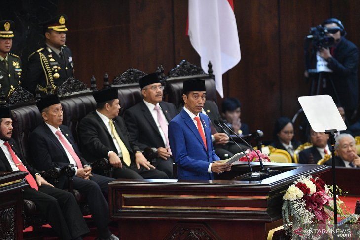 Jokowi: Saya minta izin pindahkan ibu kota negara ke Pulau Kalimantan