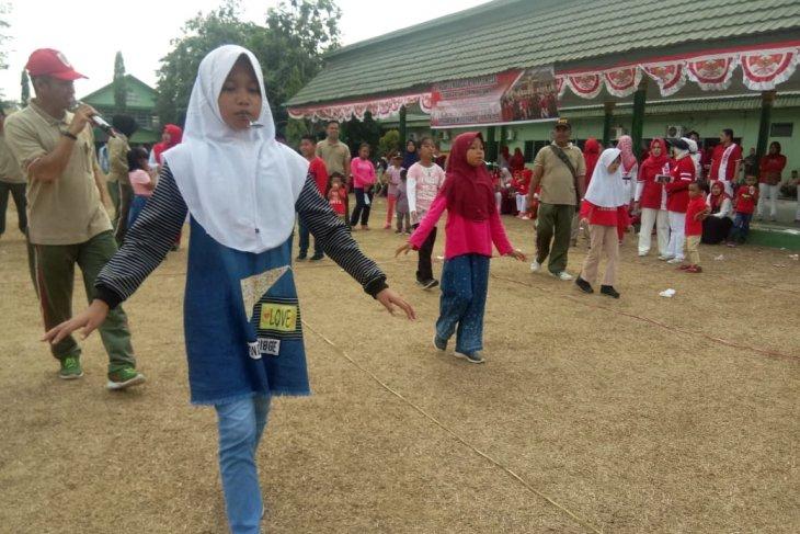 Korem 042/Gapu gelar berbagai lomba khas Indonesia meriahkan HUT ke-74 RI