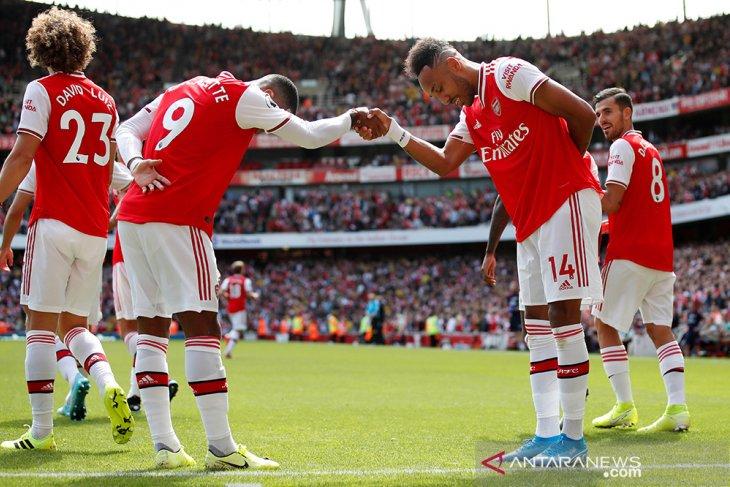 Aubameyang kembali jadi penentu kemenangan Arsenal