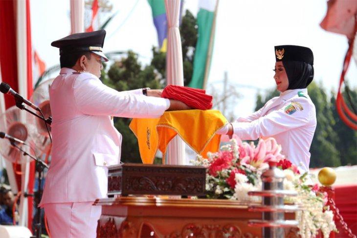 Peringatan HUT Ke-74 RI Di Provinsi Lampung