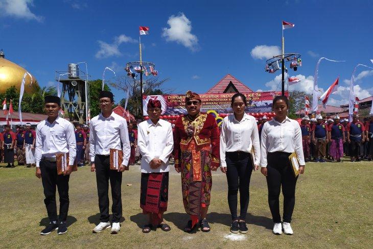 HUT RI, 732 narapidana di Bali terima remisi