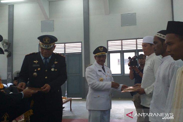 143 warga binaan lapas Tanjung Pandan Belitung terima remisi