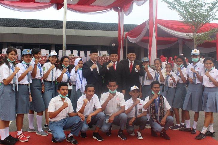 Direksi PT Semen Baturaja bersama SMN NTT