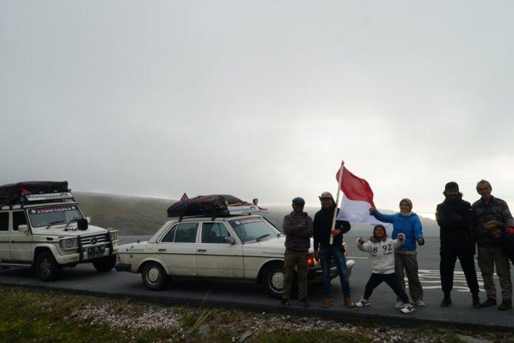 Ketika Bendera Merah Putih Berkibar di Jalanan Nordkapp, Norwegia