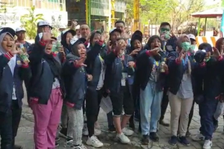 Peserta SMN asal Gorontalo kunjungi PTPN XI PG Pagottan Madiun