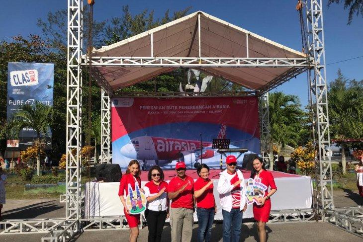 AirAsia buka rute Kuala Lumpur - Belitung