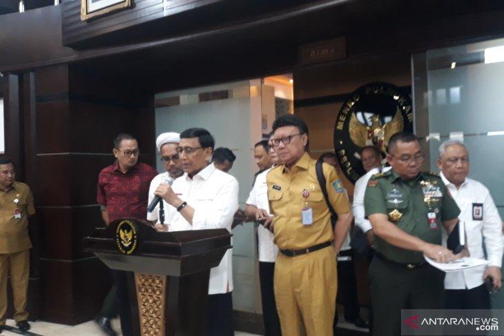 Wiranto apresiasi permintaan maaf Gubernur Jatim