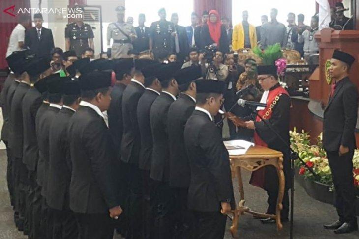 Satu caleg DPRD Penajam terpilih tidak hadir di acara pelantikan