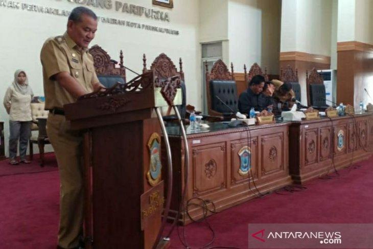 Wawako Pangkalpinang sampaikan Nota Keuangan dan Raperda Perubahan APBD
