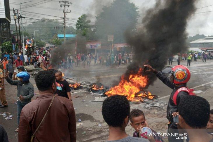 Polri kerahkan tujuh SSK demi kendalilan situasi di Manokwari