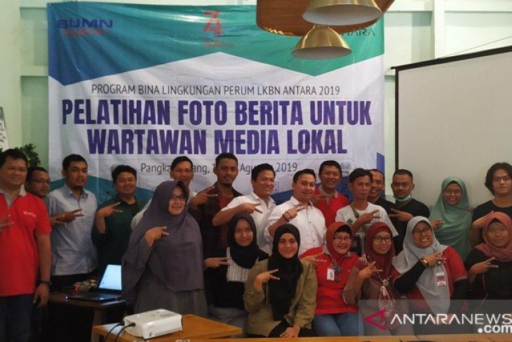 LKBN Antara gelar pelatihan fotografi di Bangka Belitung