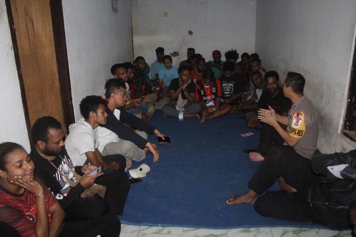 Mahasiswa dan pelajar Papua di Jember serukan jaga persatuan dan tak terprovokasi kesalahpahaman