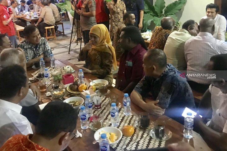 Gubernur Jatim Khofifah ingin bangun asrama mahasiswa nusantara