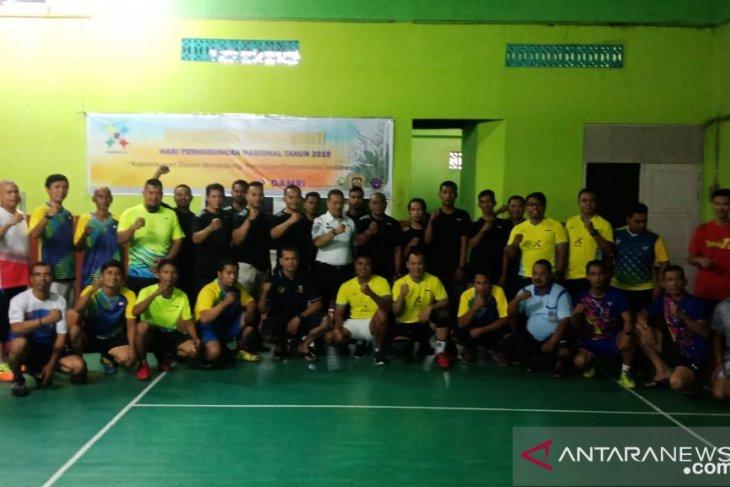 Turnamen Badminton Harbunas 2019 di Kalbar bergulir