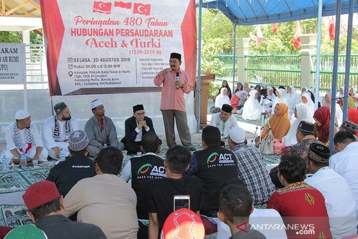 Masyarakat Aceh peringati 480 tahun persaudaraan Aceh dan Turki