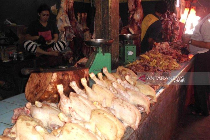 Harga ayam potong di Curup Bengkulu kembali turun