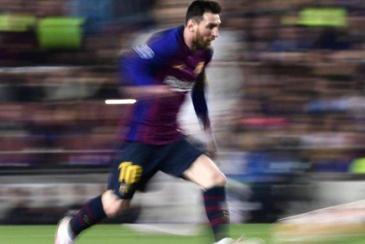 Gol Messi dan Ibrahimovic calon gol terbaik tahun ini