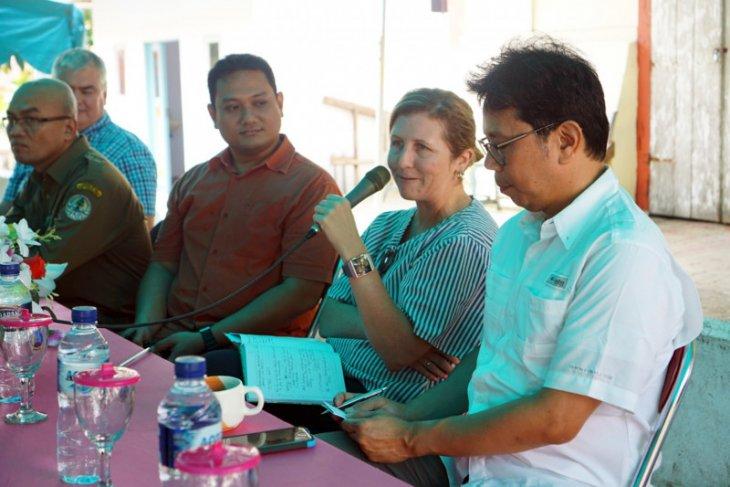 Tim USAID tinjau perkembangan APIK dua desa di pulau Haruku