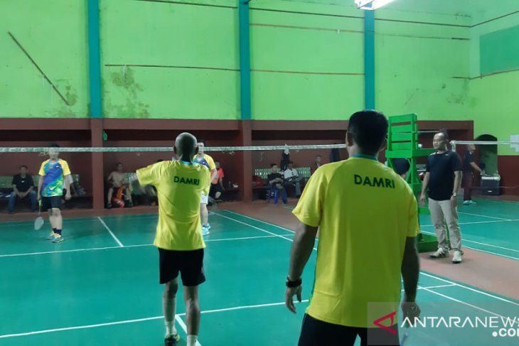 Damri optimistis jawara turnamen badminton Harbunas 2019