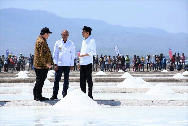 Garam industri potensial di Kupang