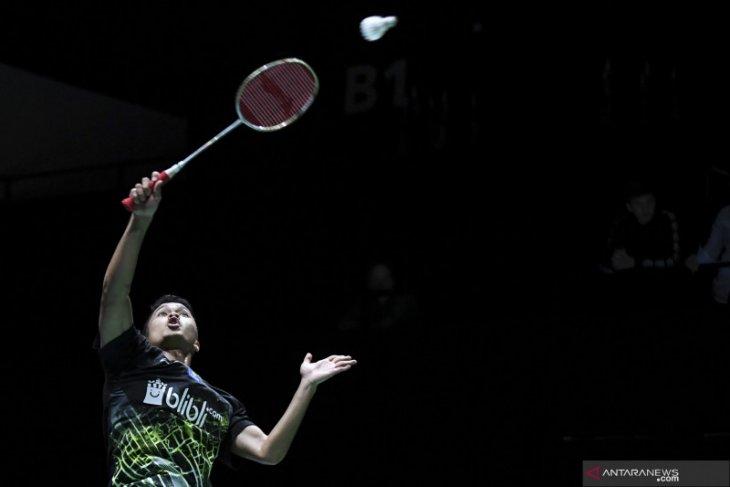 Ginting kembali bertemu Momota di final bulutangkis China Open