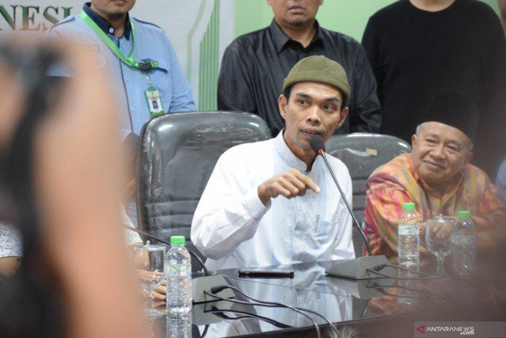 Ustadz Abdul Somad tidak persoalkan pengajiannya direkam