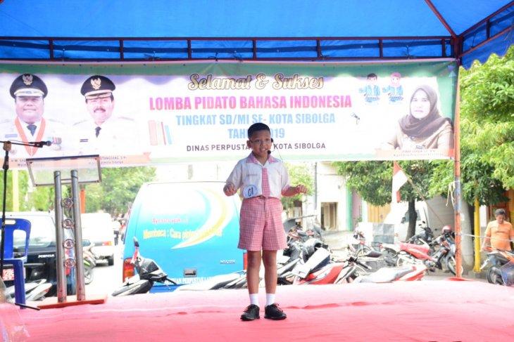 Pemkot Sibolga gelar lomba pidato bahasa Indonesia