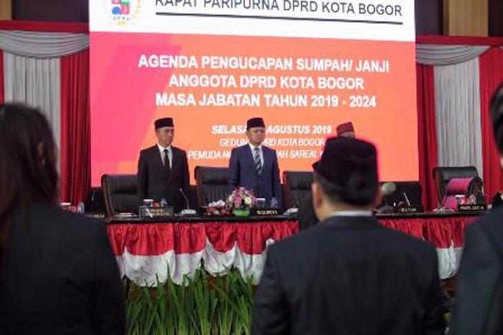 Ridwan Kamil berikan pesan kepada 50 anggota DPRD Kota Bogor