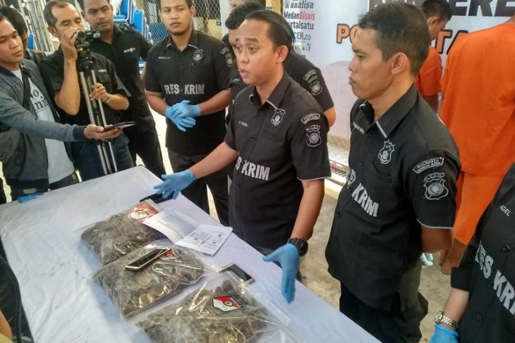 Polresta Banda Aceh gagalkan perdagangan satwa  dilindungi
